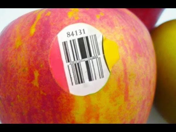 А ты знаешь что скрывают эти наклейки на фруктах важная информация для покупателя