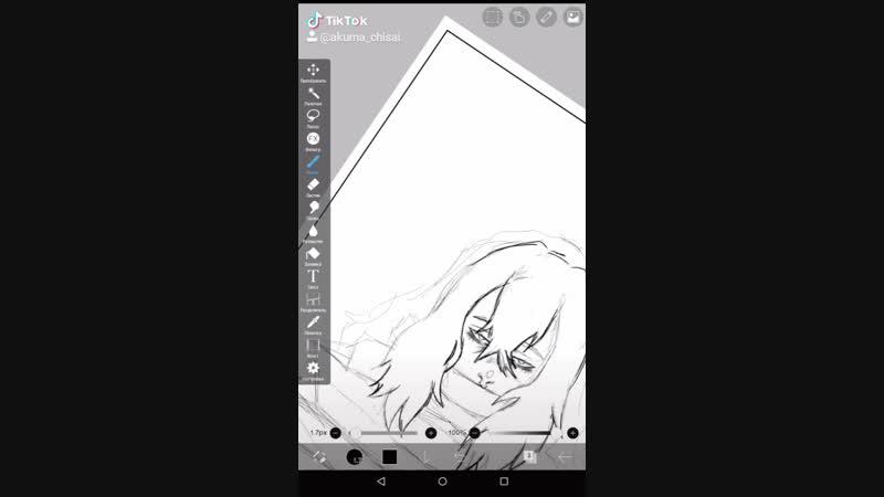 решила снова взять стилус в руки и нарисовать что-то на планшете 🌚👌