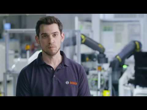 Industrie 4.0-Lösungen von Bosch im Werk Feuerbach