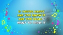 If You're Happy and You Know It Sing A Long Action Song Nursery Rhyme KiddieOK