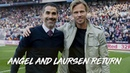 Behind the scenes: Juan Pablo Angel and Martin Laursen return to Villa Park