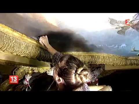 VERSAILLES en hiver 2/5 Episode 2 : Les plafonds se font une petite beauté