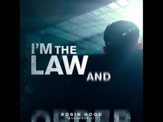 #NotMySheriff Robin Hood promo