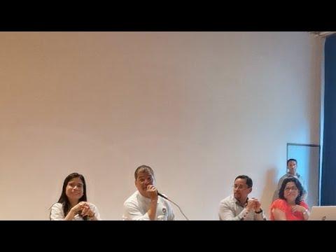 Rafael Correa Convicción En BÉLGICA