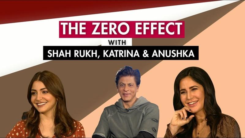 Shah Rukh Khan | Katrina Kaif | Anushka Sharma | Zero | Exclusive | Full Interview