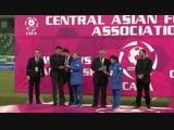 «CAFA Women's Championship 2018» мусобақаси тақдирлаш маросимидан тайёрланган видеолавҳа