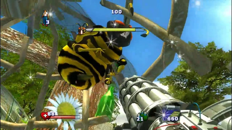 Прохождение Serious Sam 2 часть 11 ( Пчела )