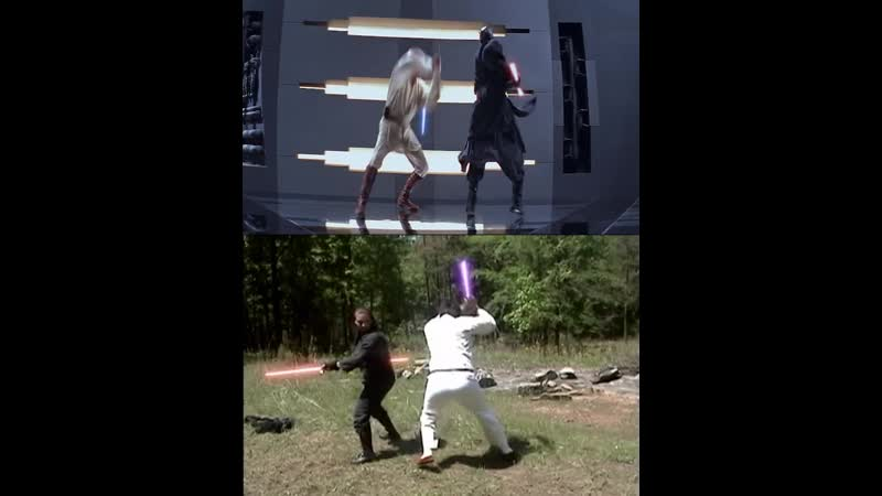 [OC] When you loved the prequels so much you learned the ObiMaul fight instead of trying to date girls