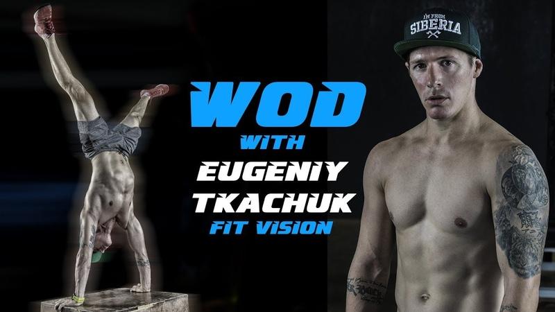 WOD Clean Bar Pullover Box Jump | Eugeniy Tkachuk | Crossfit