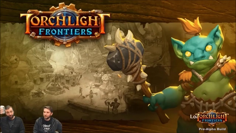 Torchlight frontiers Альфа тест