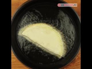 Хрустящие чебуреки (рецепт под видео)