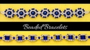 Beading tutorial. DIY Bracelets. Easy beading for BEGINNERS