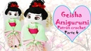 Amigurumi Geisha, muñeca a crochet parte 4/5