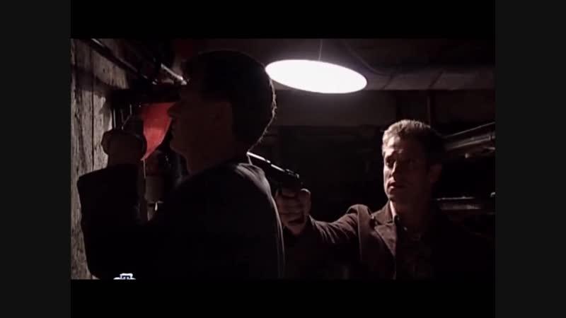 Шпионские игры 13: Черничный пирог (2008), сцена в канализации с участием Дмитрия Фрида