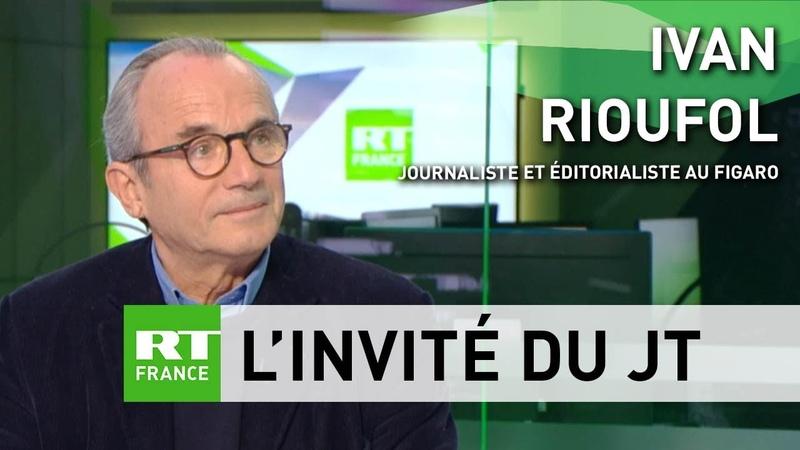 Ivan Rioufol «Jy vois les prémices dune nouvelle révolution française»