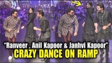 Ranveer Singh And Anil Kapoor Crazy Dance On Ramp At Lakme Fashion Week 2019 Janhvi Kapoor