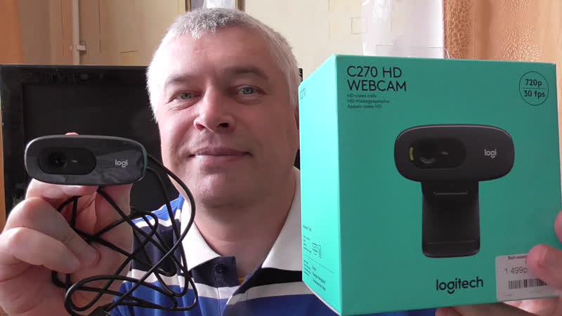 Качественный звук у веб камеры Веб камера Logitech C270