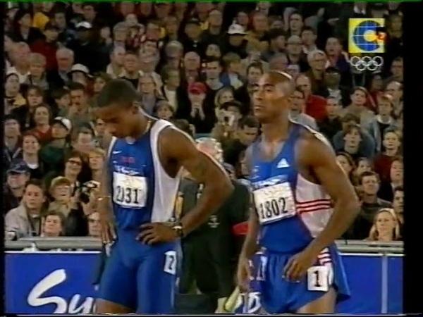 Men's 110m Hurdles Final - Sydney 2000 Olympic Games