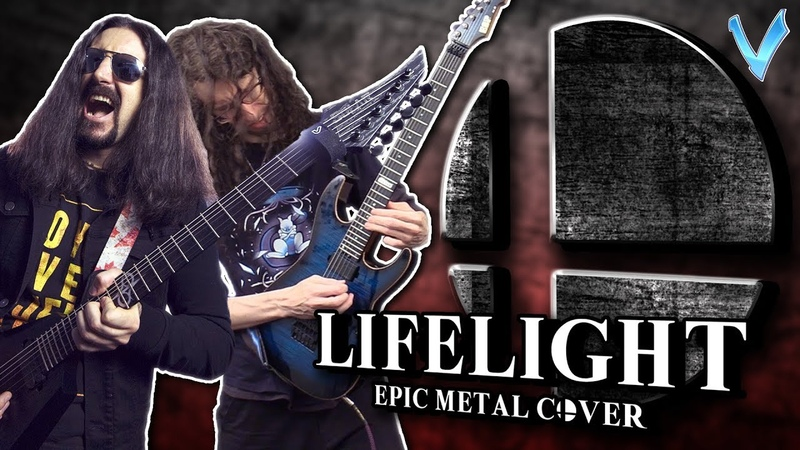 Super Smash Bros Ultimate - Lifelight [EPIC METAL COVER] (Little V feat. ToxicxEternity)