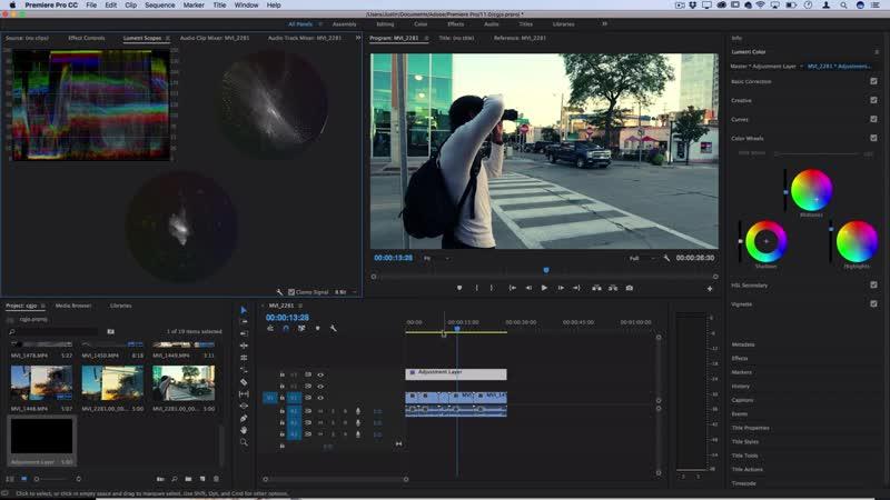 How to Color Grade like Jon Olsson Marcus Valeur in Adobe Premiere Pro CC Tuto