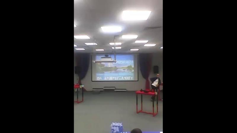 Чемпионат Владимирской области по армрестлингу.