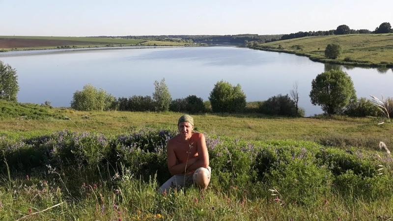 Пруд с.Кобяки Кобяковский пруд. Pond with. Kobyaki Kobyakovsky pond.