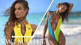 Lais Ribeiro Has Fun Shooting with Some Old-School Props  CANDIDS  Sports Illustrated Swimsuit