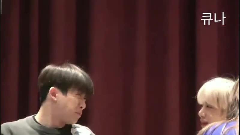 181124 MONSTA X Hyungwon, Wonho - 🐰는 너무 셔😖 🐸은 즐거워😄