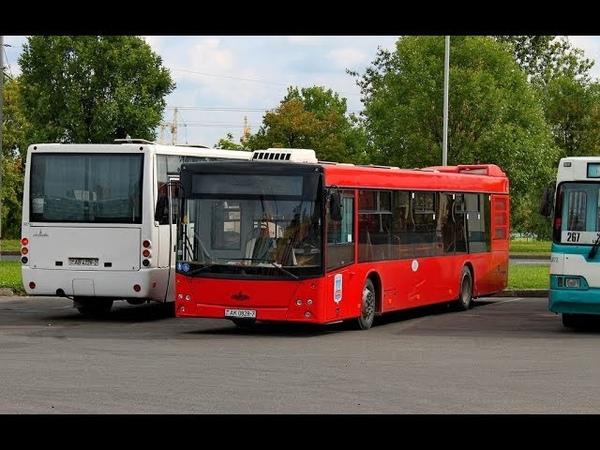 Автобус Минска МАЗ-203,гос.№ АК 0828-7,марш.95 (18.04.2019)