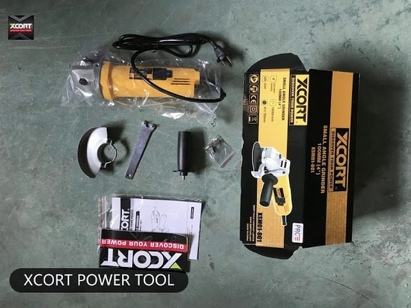 XCORT power tools dewalt 801 ANGLE GRINDER China tools not bosch makita spare parts interchangeable