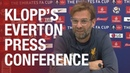 Jürgen Klopp's pre-Everton FA Cup press conference   Confirmed team news ahead of the derby