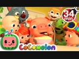 Cocomelon - Nursery Rhymes One Potato, Two Potatoes + More Nursery Rhymes - CoCoMelon