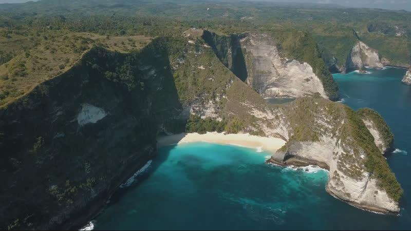 Рассвет на вулкане Батур и остров Нуса Пенида рядом с Бали. Часть 5