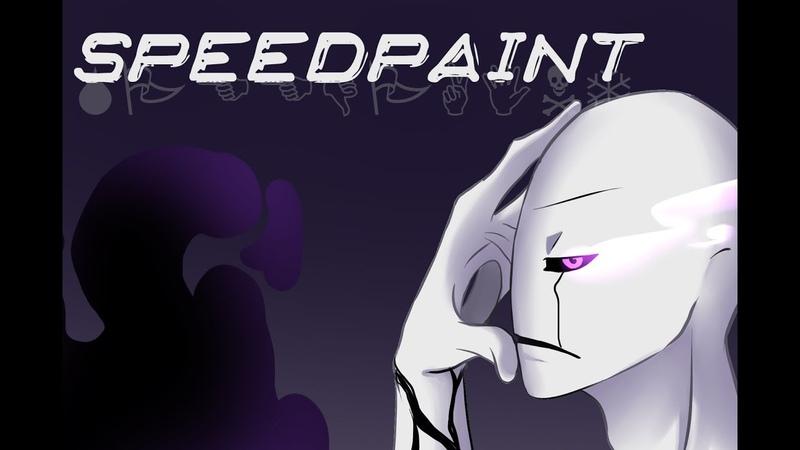 Gaster Speedpaint