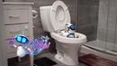 Installing Giddel Toilet Cleaning Robot