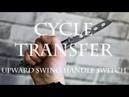 Нож-бабочка. Балисонг трюки, флиппинг для начинающих 6. Cycle, Transfer, Upward Swing Handle Switch