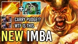 OMG! New Imba 7.20 Radiance Pudge vs PRO Anti-Mage Late Game Battle Epic Blind Hook 96 Dota 2