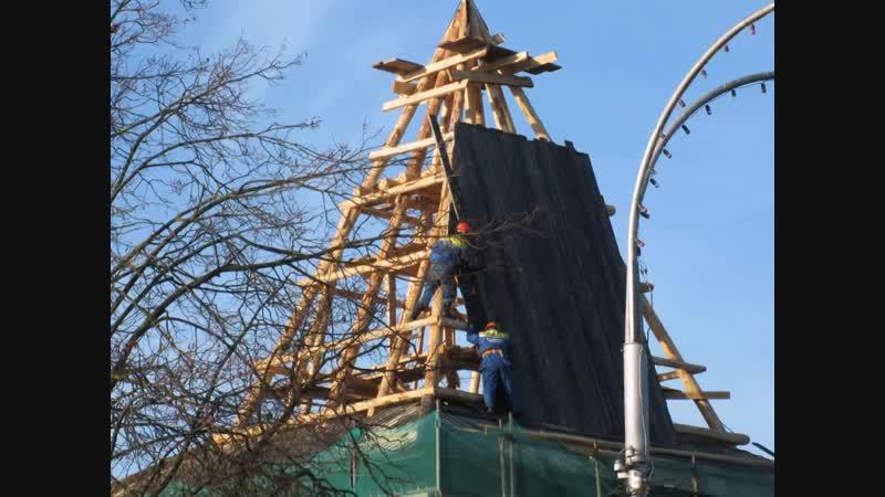 Восстановление Рыбницкой башни