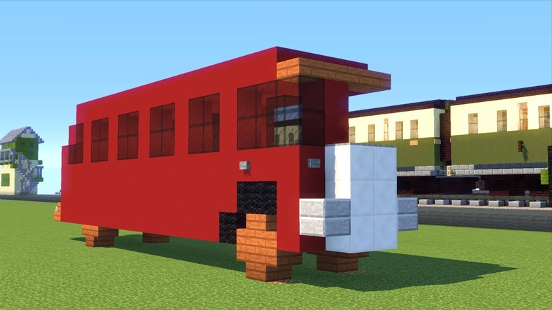 Minecraft Bertie the Bus Thomas Friends Tutorial