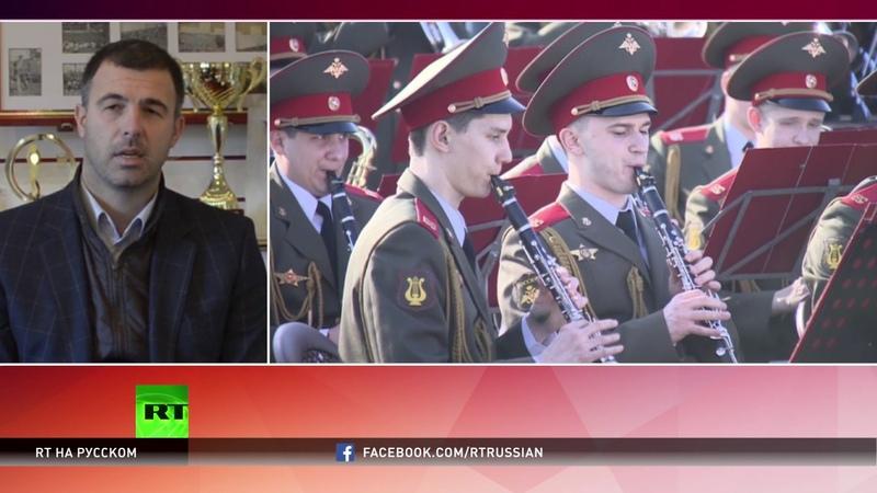 20 тысяч сербских болельщиков исполнили песню в память об ансамбле имени Александрова