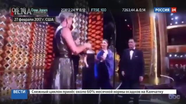 Новости на Россия 24 • Против нескромностей иранское ТВ приодело участниц церемонии Оскар
