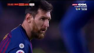 Season 20182019. FC Barcelona - Levante UD - 30