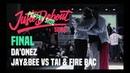 2019 JUSTE DEBOUT SEOUL / Poppin Final Daonez Jay BEE vs Tai FireBac