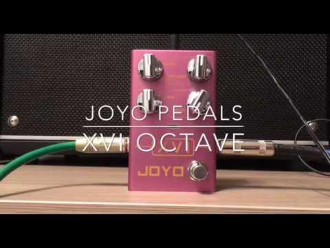 Joyo XVI Octave Pedal Demo