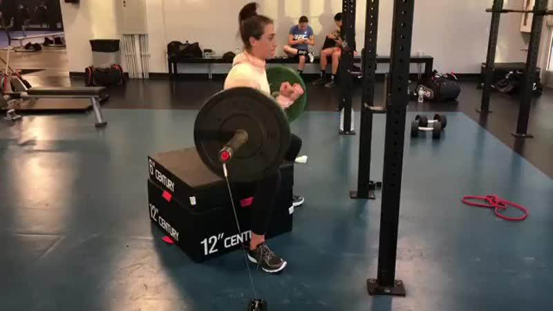 Joanna jedrzejczyk strength conditioning 16 10 2018