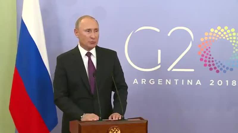 Путин сделал явку с повинной на G20 Кому война, а кому мать родная! - - Россия Путин G20 Украина