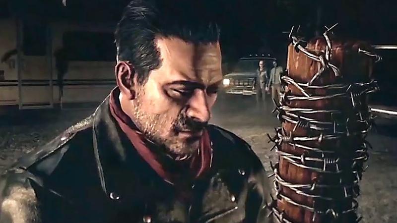TEKKEN 7 The Walking Dead's Negan Gameplay Trailer (2018)