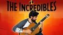 THE INCREDIBLES - Main Theme Classical Guitar Cover (BeyondTheGuitar)