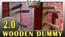 Como hacer Wooden Dummy de pared Muy fácil