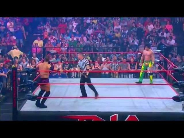 TNA x division championship match Austin aries vs Zema ion at victory road 2012 part 1